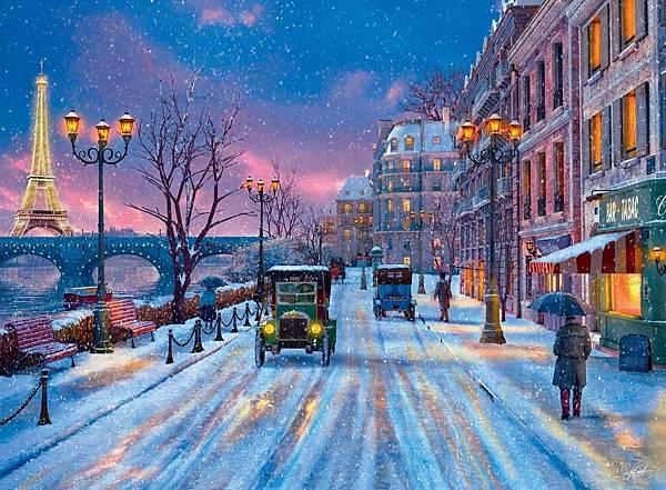 500P Winter in Paris