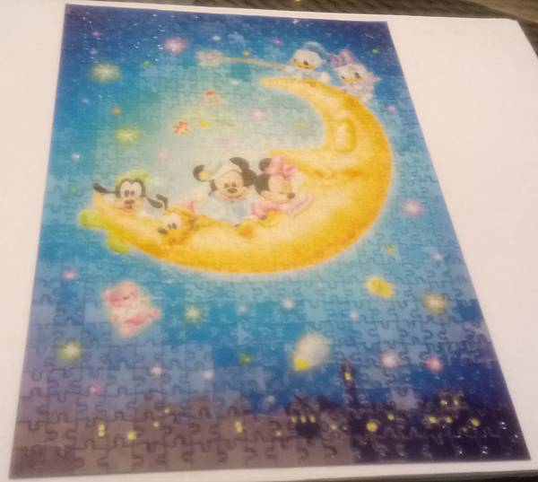 2017.08.12 500pcs Stained Art - Baby Mickey & Minnie (2).jpg