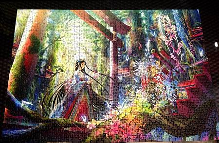 2017.09.08 1000pcs Altar in the Forest.jpg