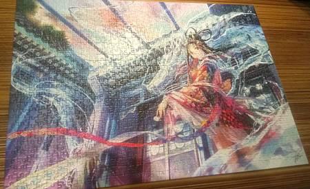 2017.09.09 1000pcs Dragon King's Daughter.jpg