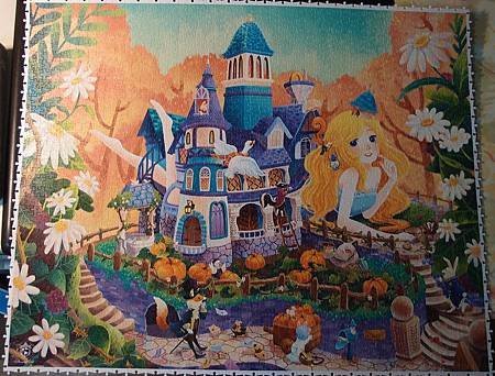 2017.09.19-20 2000pcs Alice in Wonderland - White Rabbit's House (1).JPG