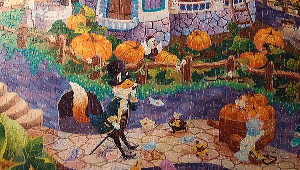 2017.09.19-20 2000pcs Alice in Wonderland - White Rabbit's House (2).JPG