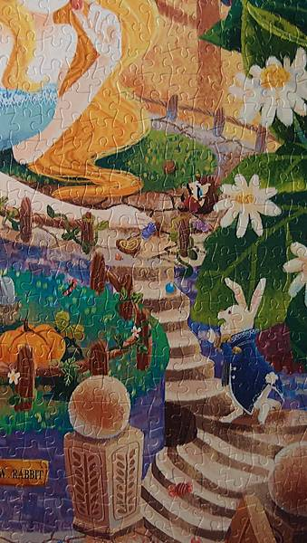 2017.09.19-20 2000pcs Alice in Wonderland - White Rabbit's House (3).JPG
