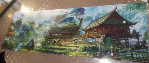 2017.09.22 752pcs The Panda Village, Kung Fu Panda 3.jpg