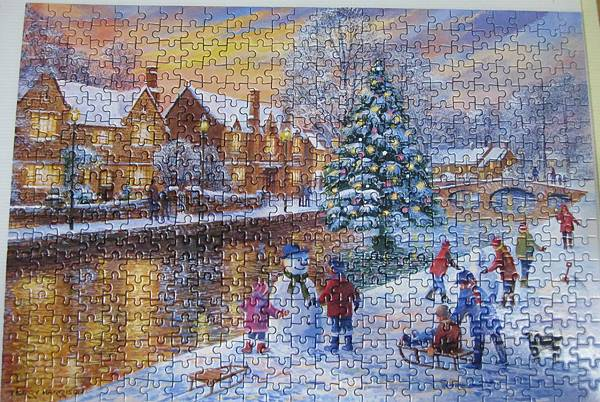2017.11.07 500pcs Bourton at Christmas (1).JPG