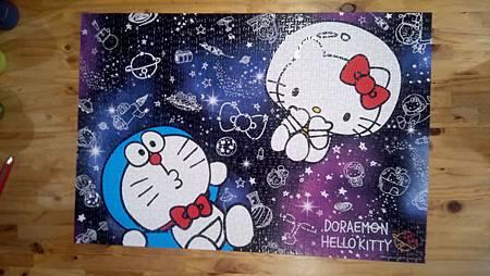 2017.11.25 1000pcs Doraemon x Hello Kitty.jpg