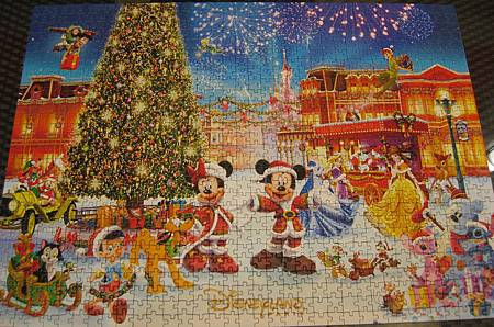 2017.12.15 1000pcs Disneyland Paris - Christmas 2013 (1).JPG