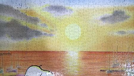 2018.01.12 1000pcs Snoopy's Sunset (3).jpg