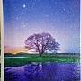 2018.02.08 500pcs 青の世界 ひとりぼっちの木 (1).jpg