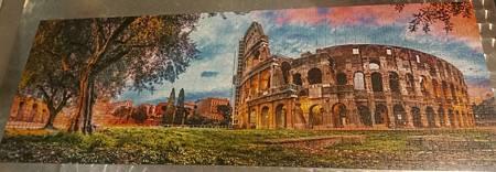 2018.04.24 1000pcs Colosseum at dawn (1).jpg