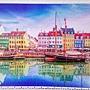 2018.06.17 1000pcs Old Nyhavn Port in Copenhagen. Denmark 丹麥哥本哈根 - 新港運河 (1).jpg