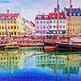 2018.06.17 1000pcs Old Nyhavn Port in Copenhagen. Denmark 丹麥哥本哈根 - 新港運河 (2).jpg