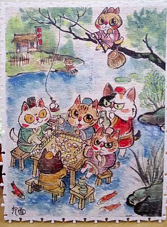 2018.07.11 300pcs The Leisure Life of the Cats 喵生悠哉 (2).jpg