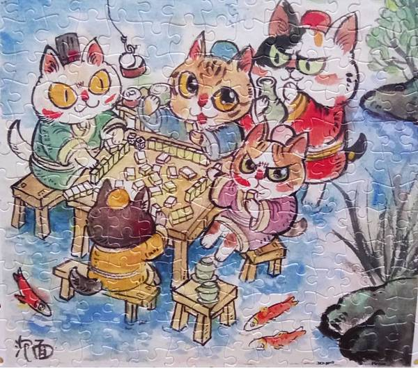 2018.07.11 300pcs The Leisure Life of the Cats 喵生悠哉 (3).jpg