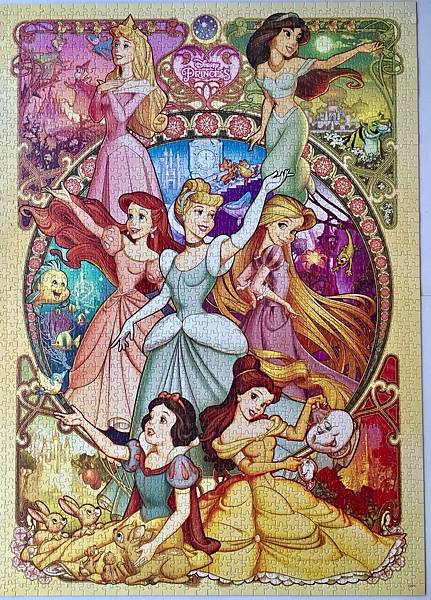 2018.08 2000pcs Disney Princess (1).jpg