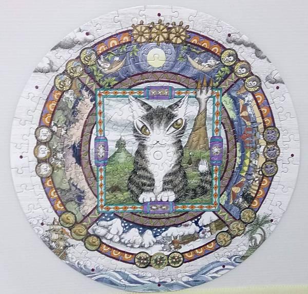 2018.08.14 168pcs Mandala 曼荼羅雙面時鐘拼圖 (6).jpg