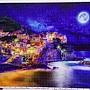 2018.08.16 1200pcs Starrry Night of Cinque Terre, Italy 義大利星空下的五漁村 (2).jpg