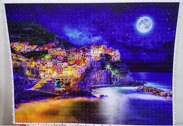 2018.08.16 1200pcs Starrry Night of Cinque Terre, Italy 義大利星空下的五漁村 (1).jpg