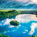 Beverly mini 1000P斯洛維尼亞湖中教堂,$375.png