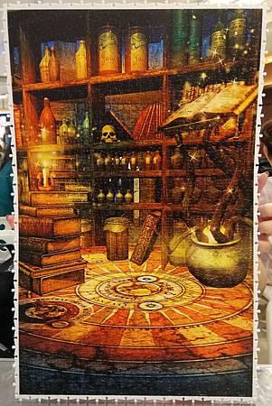 2018.09.14 1000pcs Fantasy Magic Room 魔法書房 (2).jpg