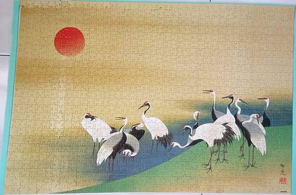 2018.10.13-14 1000pcs 旭日群鶴圖 (5).jpg