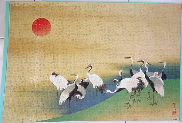 2018.10.13-14 1000pcs 旭日群鶴圖 (8).jpg