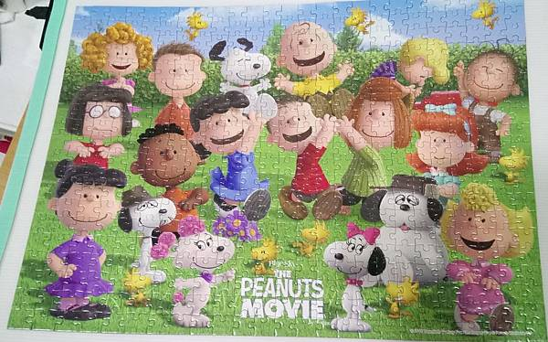 2018.10.24 500pcs Blue Sky - The Peanuts Movie (1).jpg