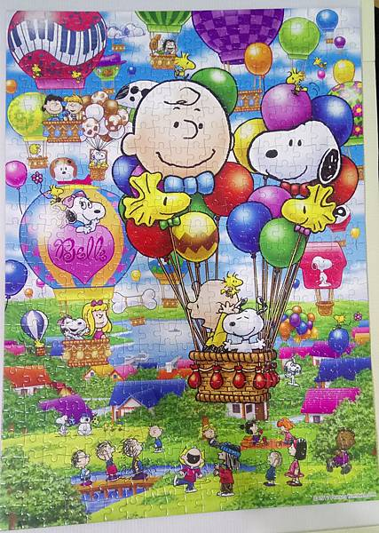 2018.10.26 500pcs Snoopy Ballon Flight (1).jpg