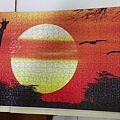 2018.11.15 1000pcs Giraffe in Sunset.jpg
