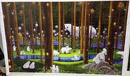 2018.11.16 1000pcs Polar Bears in the Forest 森林祕境 (1).jpg
