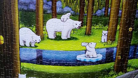 2018.11.16 1000pcs Polar Bears in the Forest 森林祕境 (3).jpg