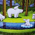 2018.11.16 1000pcs Polar Bears in the Forest 森林祕境 (3).jpg