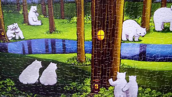 2018.11.16 1000pcs Polar Bears in the Forest 森林祕境 (4).jpg