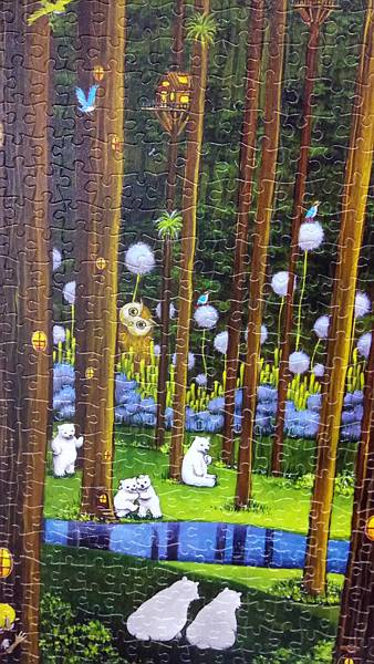 2018.11.16 1000pcs Polar Bears in the Forest 森林祕境 (5).jpg