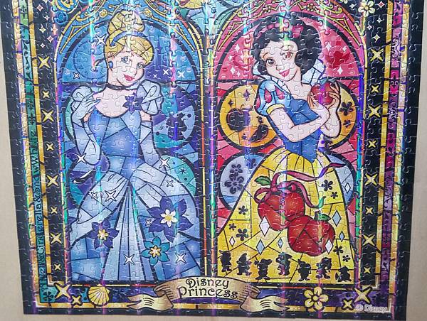 2019.01.12 1000pcs Diney Princess (Ariel, Cinderella,Snow White) (4).jpg