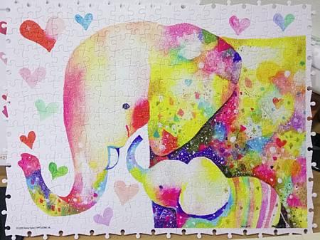 2019.01.17 300pcs Elephant Family (1).jpg