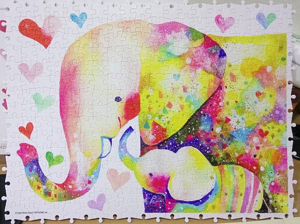 2019.01.17 300pcs Elephant Family (1).jpg