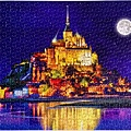 2019.02.19 1000pcs Mont Saint-Michel and its bay-6.jpg
