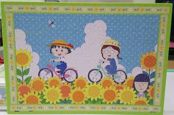 2019.02.25 368pcs 櫻桃小丸子 - 向日葵花海單車行 (2).jpg