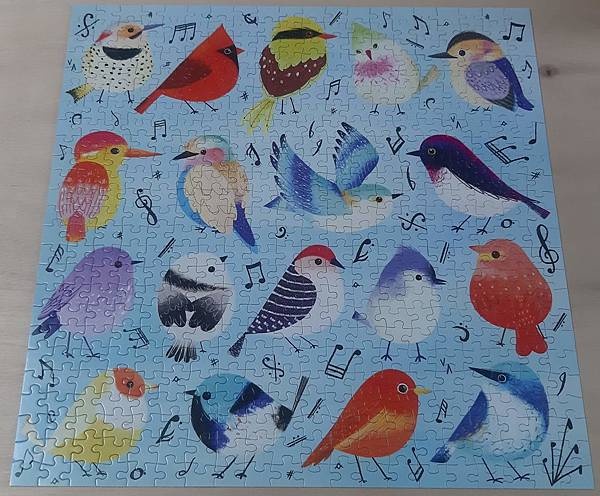 2019.04.13 500pcs Songbirds.jpg