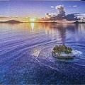 2019.06.13 1000pcs A Small Paradise Jeep 島之夕陽 (1).jpg