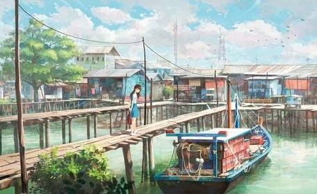 Pintoo 1000P漁船.jpg