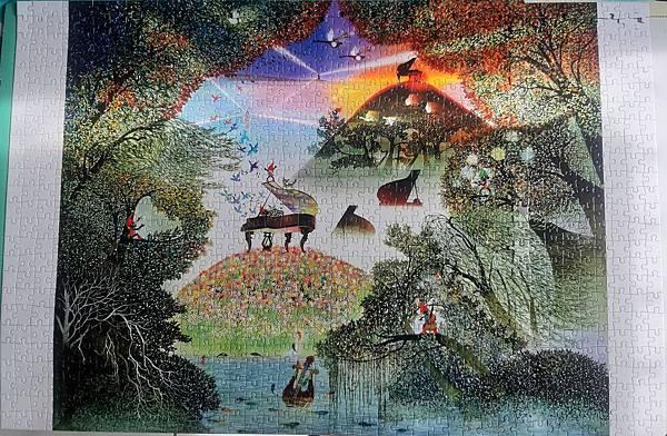 2019.06.14 1000pcs Symphony in the Forest リーフがそよぐシンフォニー (1).jpg