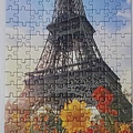 2019.07.10 300pcs The Eiffel Tower among Flowers (3).jpg