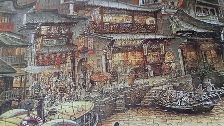 2020.01.15 1000pcs  South Town Canal 南鄉舊夢圖III-運河(WPD) (2).jpg