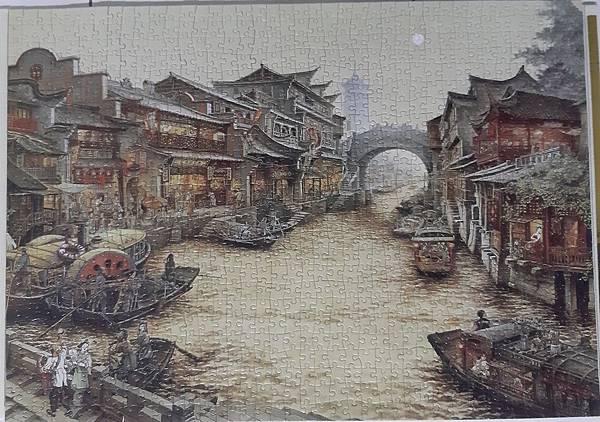 2020.01.15 1000pcs  South Town Canal 南鄉舊夢圖III-運河(WPD) (1).jpg