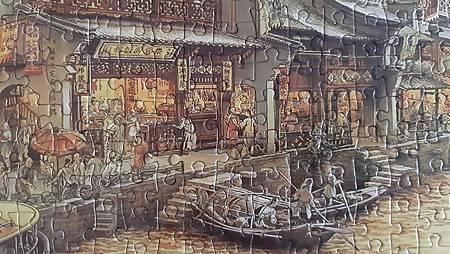 2020.01.15 1000pcs  South Town Canal 南鄉舊夢圖III-運河(WPD) (9).jpg