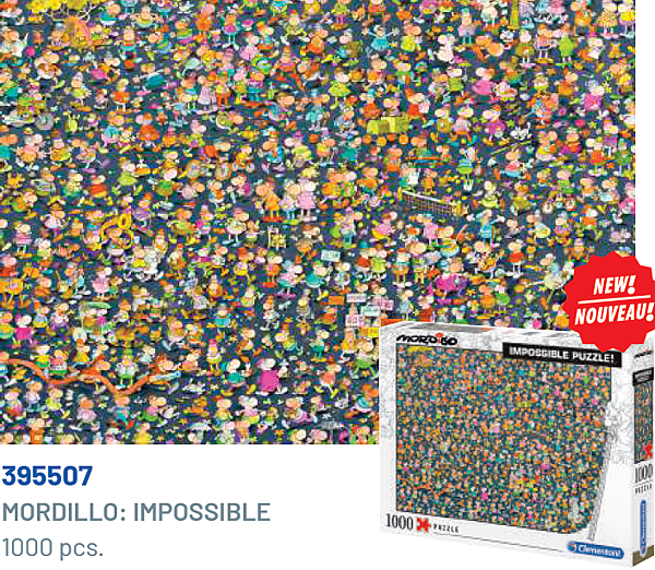 Clementoni 1000P Mordillo-Impossible 395507.png