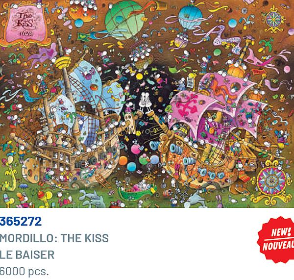 Clementoni 6000P Mordillo-The Kiss 365272.png