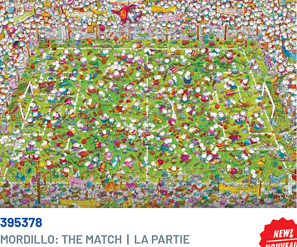 Clementoni 1000P Mordillo-The Match 395378.png